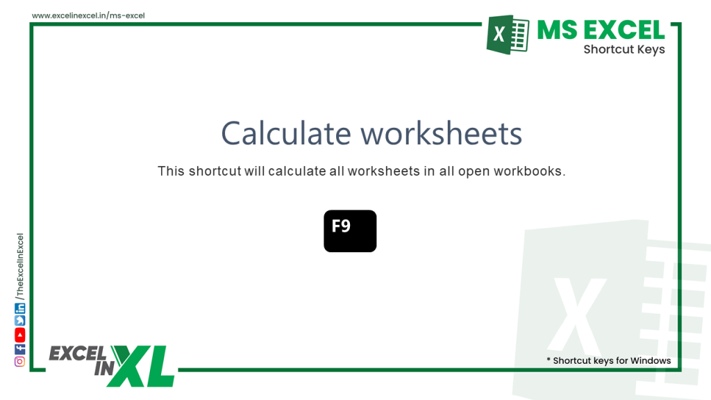 Calculate worksheets 2