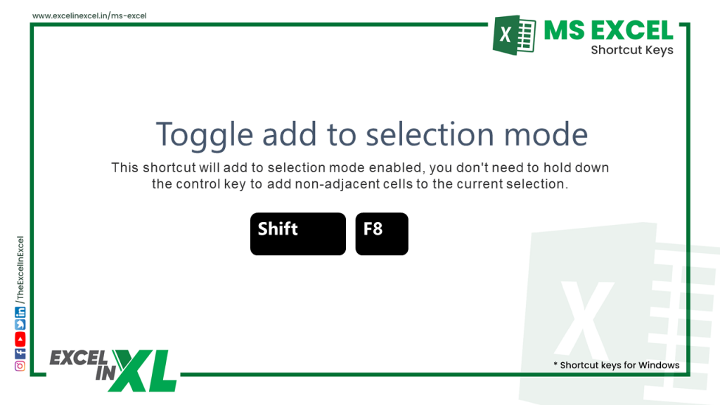 Toggle add to selection mode 2