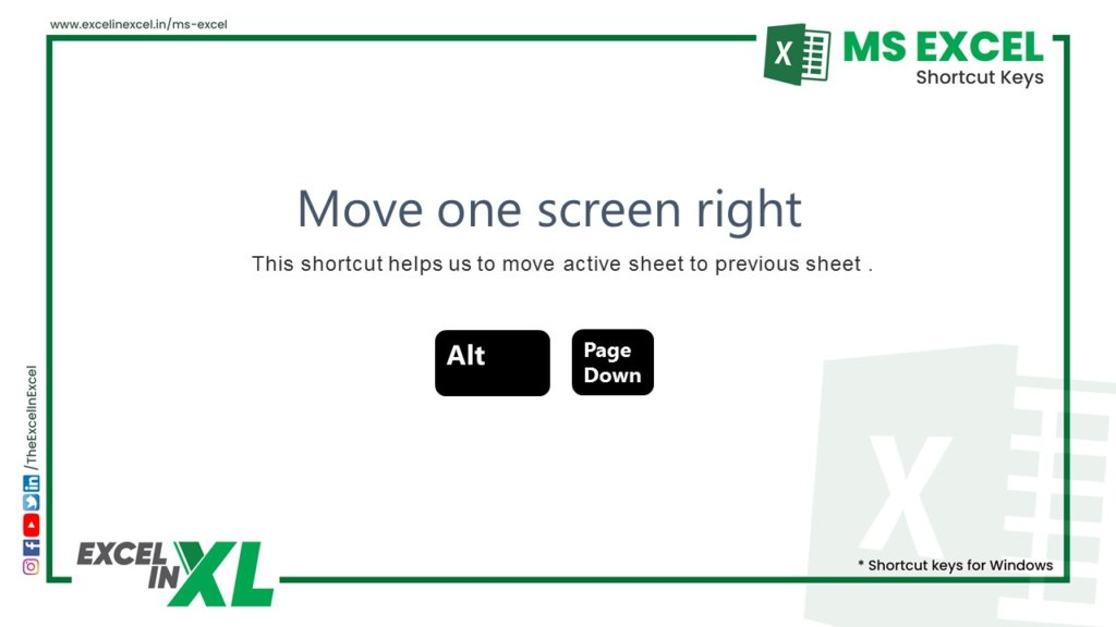 Move one screen left 2