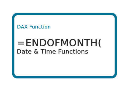 DAX-ENDOFMONTH-Function