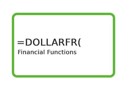 Excel-DOLLARFR-Function