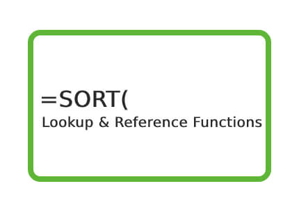 Excel-SORT-Function