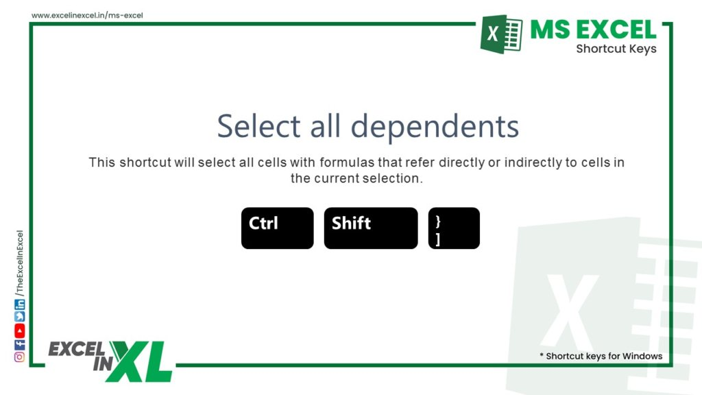 Select all dependents 2