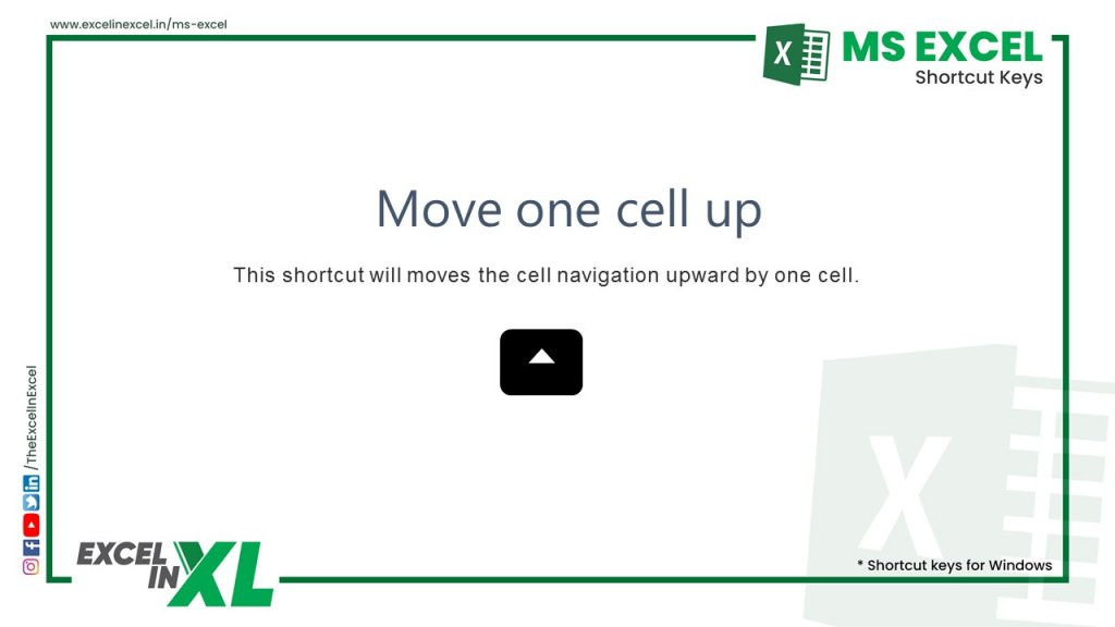 Move one cell up 2