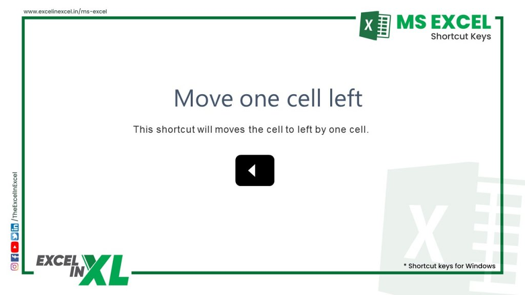 Move one cell left 2