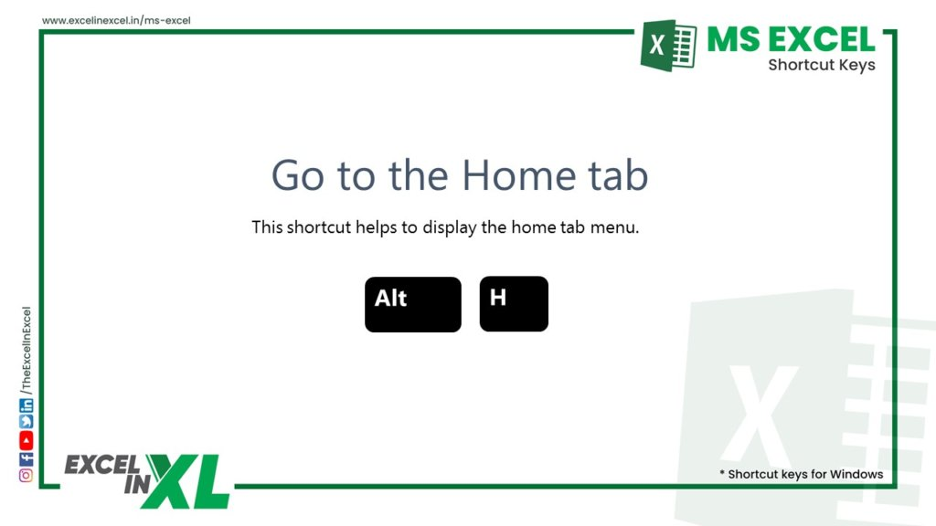 Go to the Home tab 2