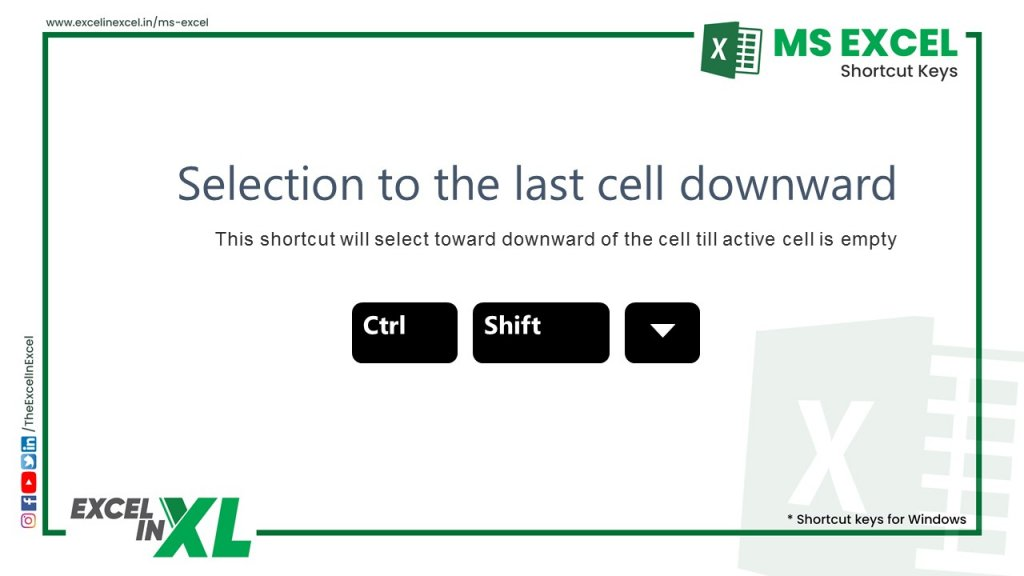 Select to last cell downward 2