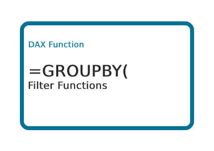 DAX-GROUPBY-Function