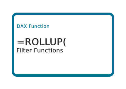 DAX-ROLLUP-Function