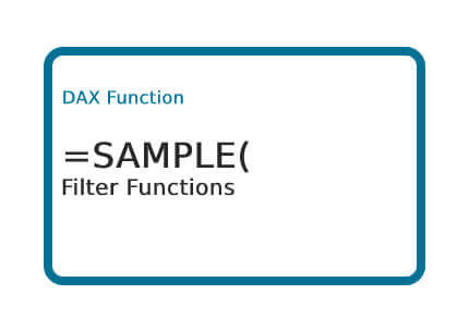 DAX-SAMPLE-Function
