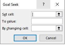 Goal Seek in Excel 3