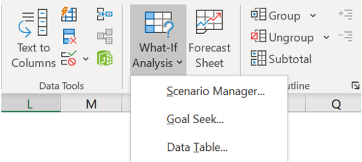 What-If Analysis in Excel 1