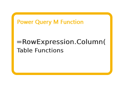 RowExpression.Column Function