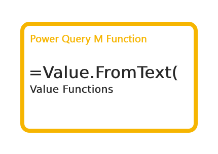 Value.FromText Function