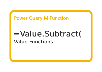Value.Subtract Function