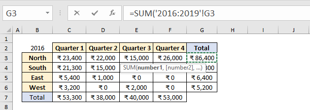3D Referencing In Excel 18