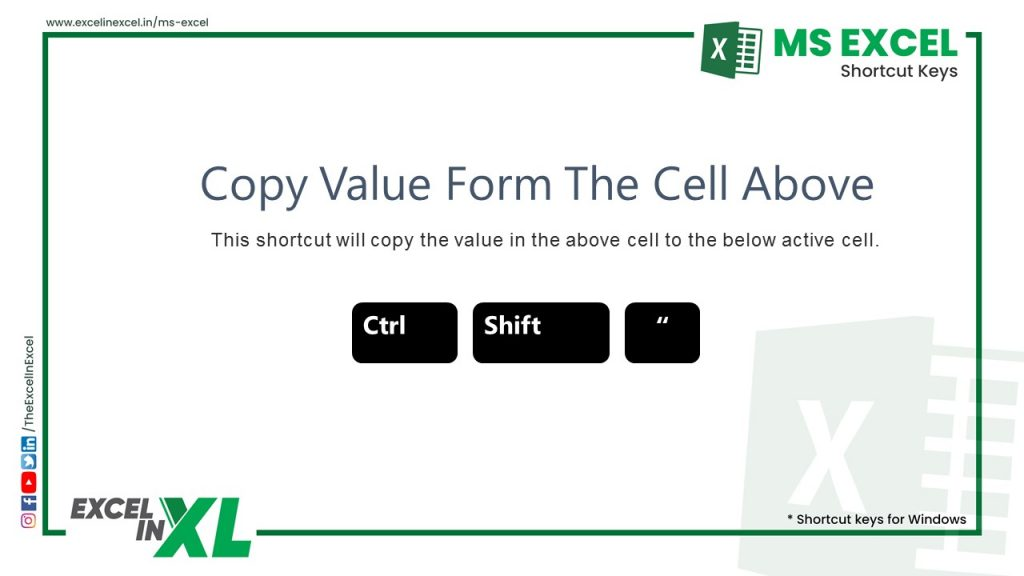 Copy Value From the Cell Above 2