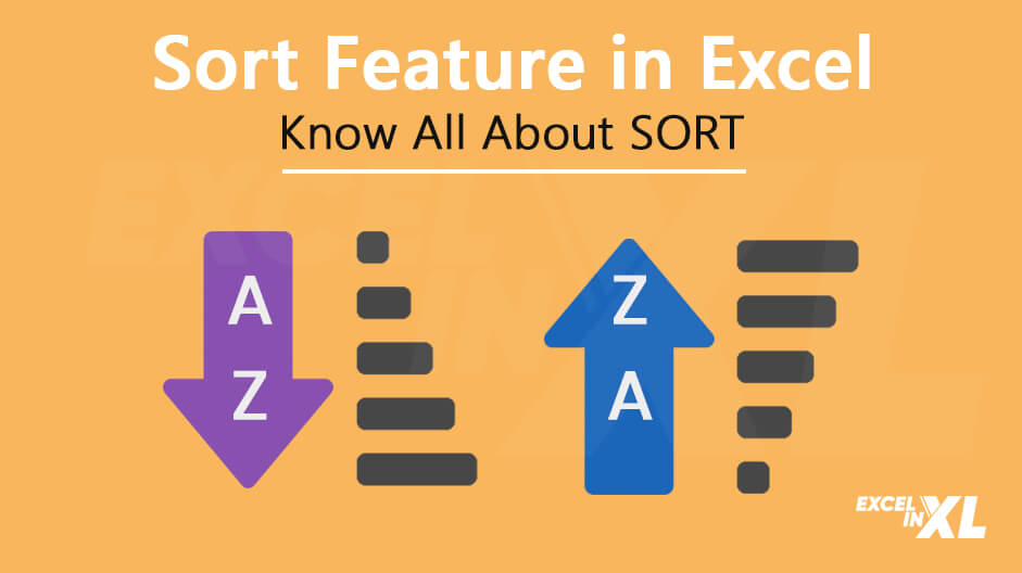 full guide to sort feature in excel