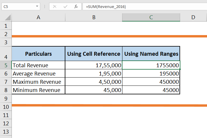 How to create a Named Range in Excel 57