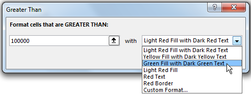 How to Highlight Cell rules based on Values in Pivot Table 12