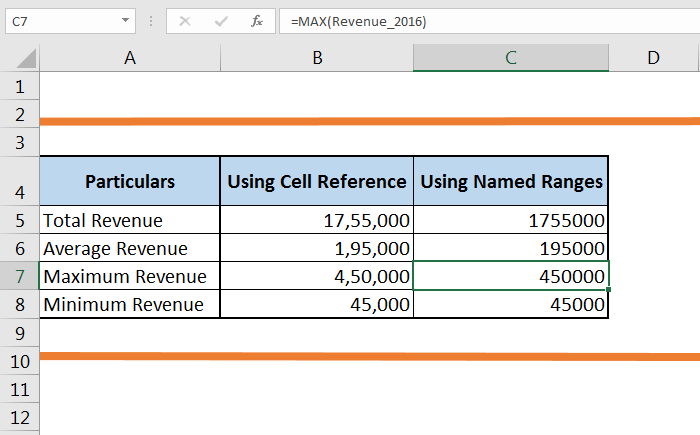 How to create a Named Range in Excel 63