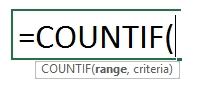 How to use COUNTIF function in Excel 76