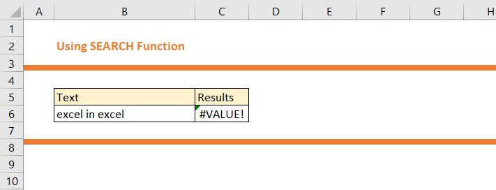 How to use SEARCH Function in Excel 16