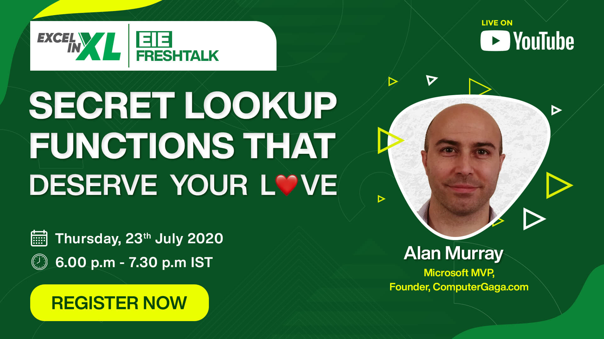 EiEFreshTalk with Alan Murray