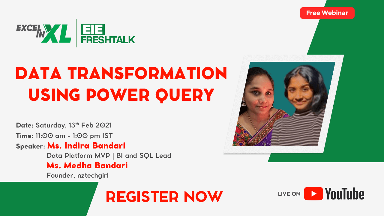 Data Transformation using Power Query - FreshTalk